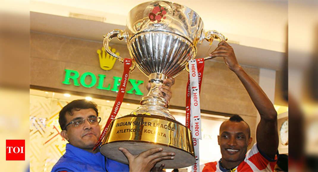 ISL champions Atletico de Kolkata return to hero's welcome ...