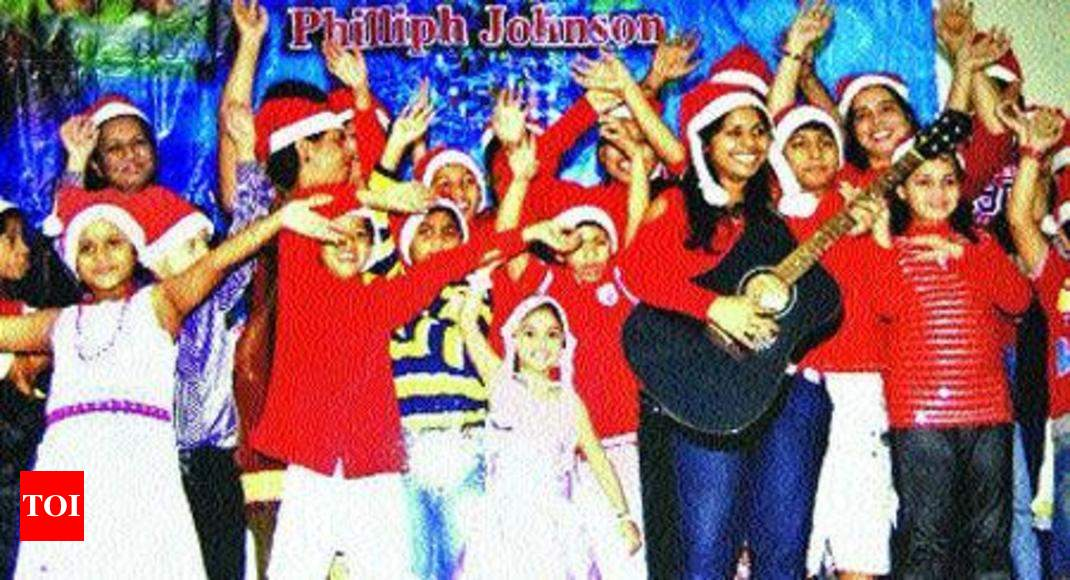 a christmas to remember for 350 kids gurgaon news times of india - A Christmas To Remember