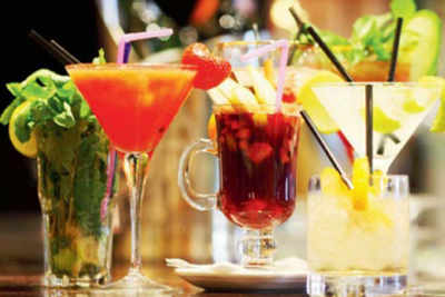 Zero-alcohol drinks are a trend this season