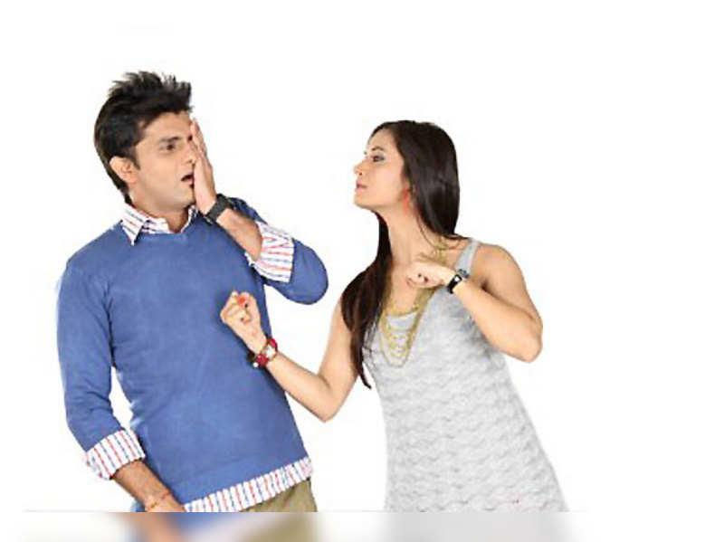 Bhaskar Bhojak and Vimmy Bhatt in Aa Family Comedy Chhe