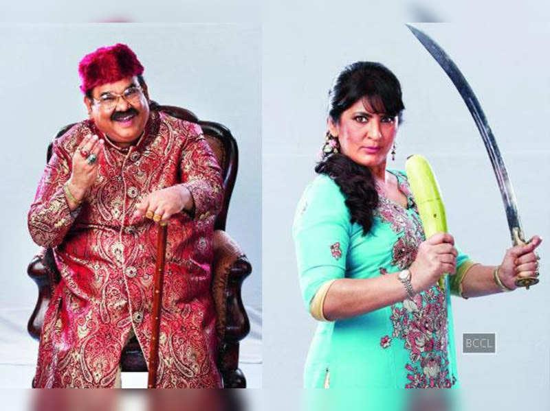 The Great Indian Family Drama Satish Kaushik Archana Puran Singh In Fun Filled Family Drama Nawaabi Style Times Of India