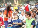 Suresh Gopi spotted at the Marathon