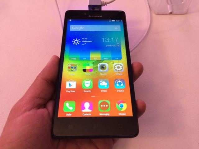 Lenovo A6000 doesn't look very different from other Android smartphones available at this price.