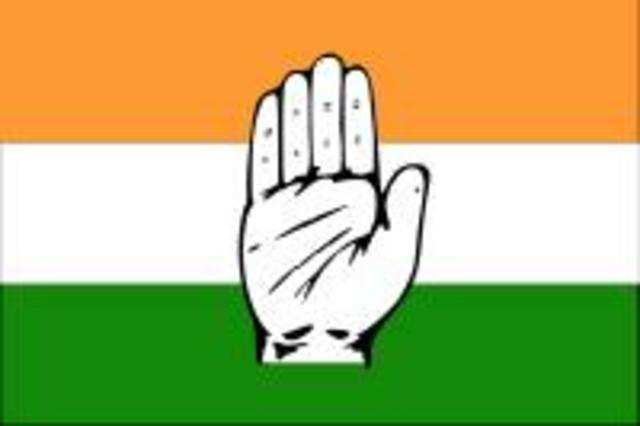 The Congress party's Delhi website is down thanks to the administrator's exit from the party.