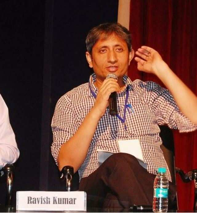 Ravish Kumar's blog was listed among 11 other Indian websites which they also claimed to have been hacked.
