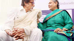 Spotted: Big B, Jaya Bachchan at an event