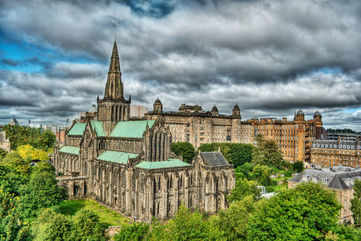 Start the day at Glasgow Cathedral