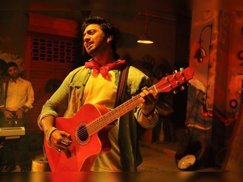 In Pics: Dev turns rockstar for Arshinagar