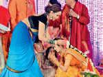 Manoj & Pranathi's engagement ceremony