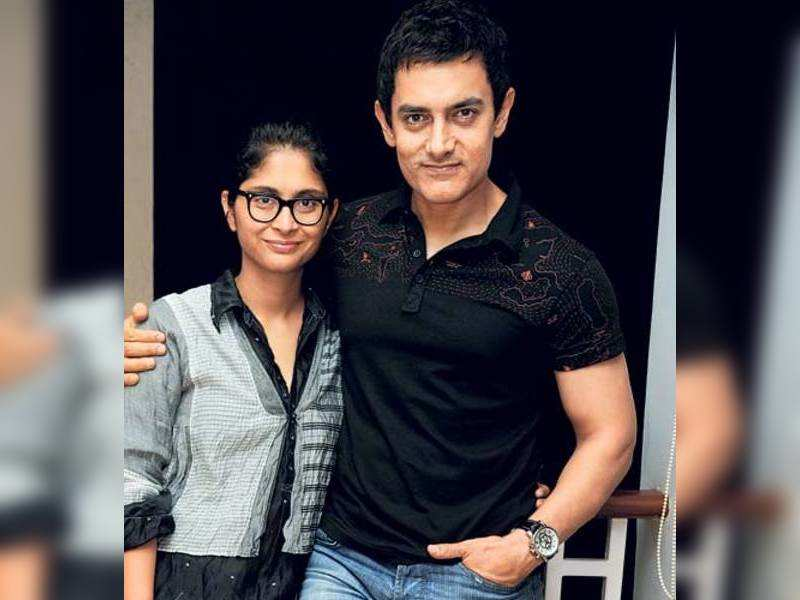 "Aamir Khan with Kiran Rao <a href=""http://photogallery.indiatimes.com/portfoliolist/3879094.cms"" target=""_blank"">More Pics</a>"