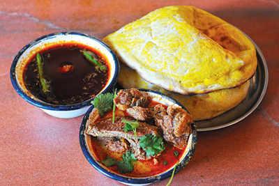 Naan Khaliya: Aurangabad's historic dish