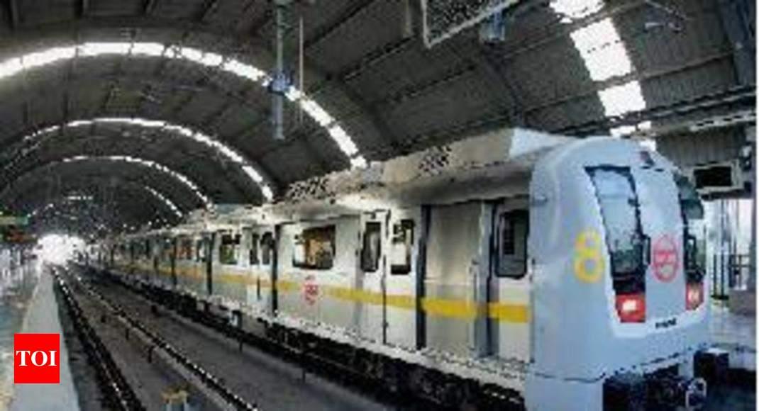 Make in India\' initiative: Most Metro trains are desi | Delhi News ...