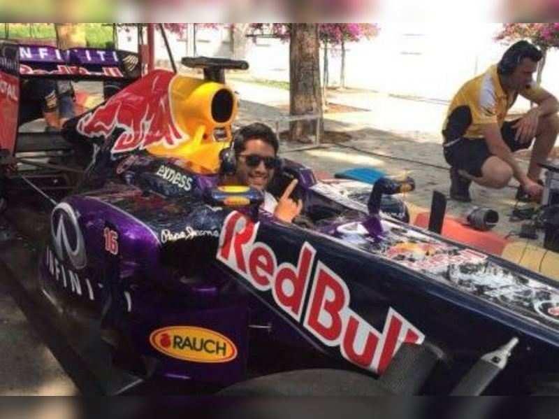 Naga Chaitanya talks about his passion for F1 racing