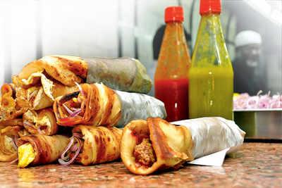 Kolkata, choose the best roll in town
