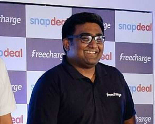 Kunal Shah has just sold his four-year-old online mobile recharge venture FreeCharge, which he started with friend Sandeep Tandon, to Snapdeal for a whopping $400 million.(Getty Images)