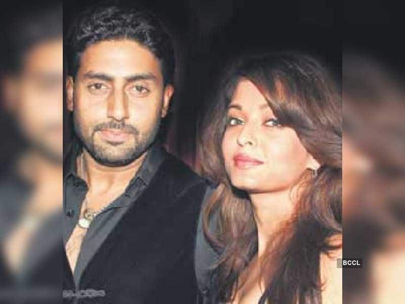 "Abhishek and Aishwarya<a href=""http://photogallery.indiatimes.com/portfoliolist/3878458.cms"" target=""_blank"">More Pics</a>"
