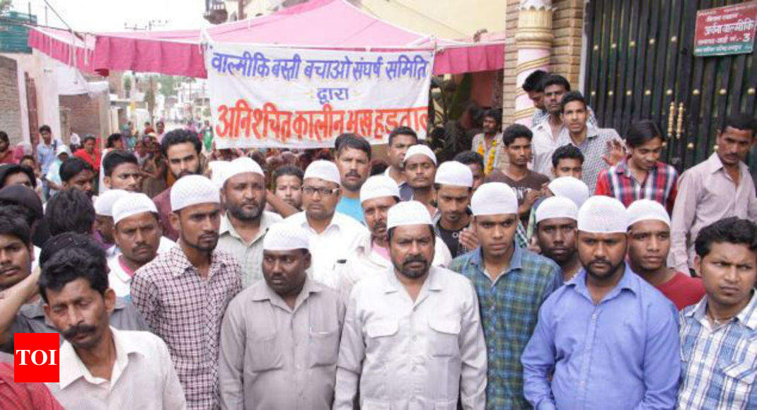More Than 800 Valmikis Convert To In Up S Rampur Save Homes From Demolition India News Times Of