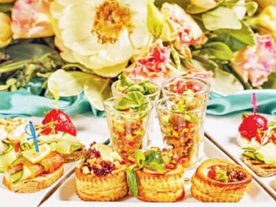 Hot wedding food trends