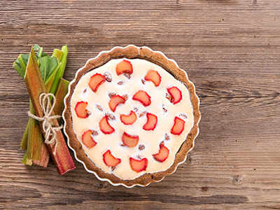Rhubarb: The wonder ingredient in your cheesecake