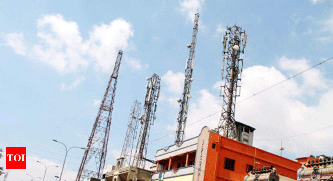 Radiation by cell towers no issue if norms followed' - Times