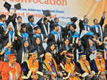 A convocation ceremony