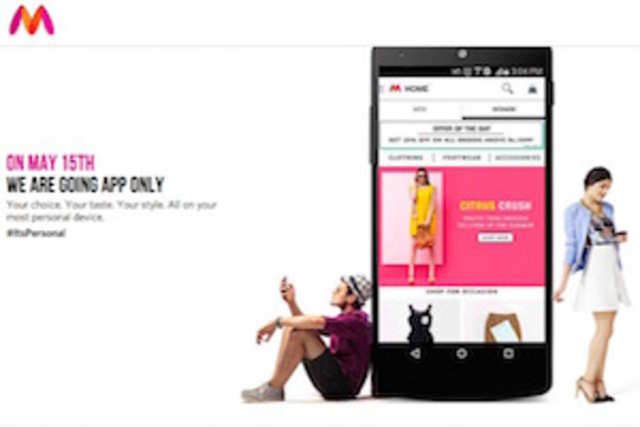 Myntra informed users about the move through print ads published in national dailies and via e-mail.