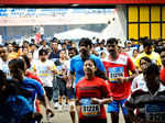 Participants take part in the 10k Marathon, held in BengaluruPhotogallery - Times of India