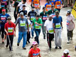 Differently abled participants take part in the 10k Marathon Photogallery - Times of India