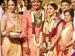 Manoj-Pranathi tie the knot Photogallery - Times of India