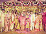 Manchu Manoj and Pranathi pose with family members and relatives  Photogallery - Times of India