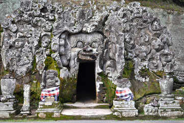 Elephant Cave or the Goa Gajah