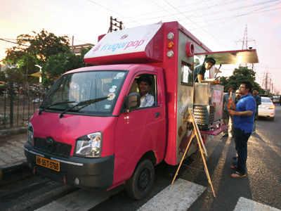 Gurgaon's meals on wheels!