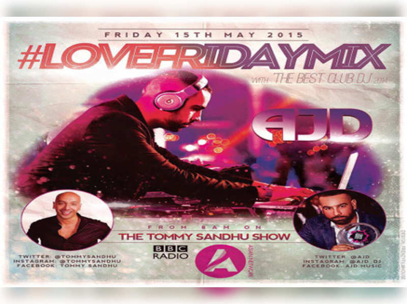 AJD showcases live mix on 'Tommy Sandhu Show'
