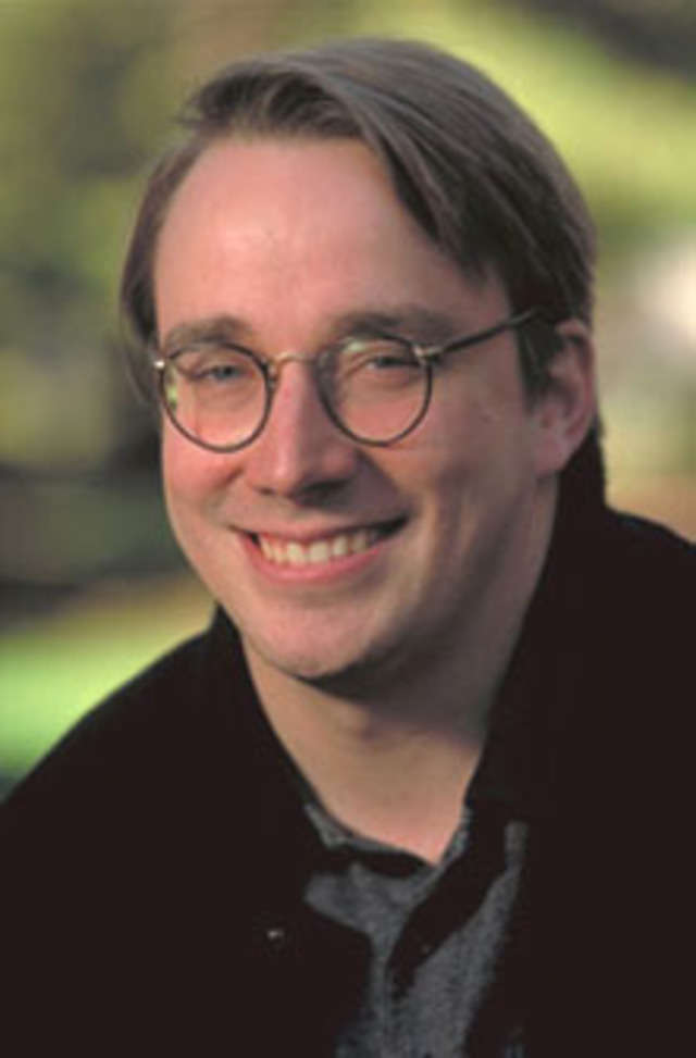 Linus Torvalds released the Linux operating system from his college dorm room in Finland in 1991.