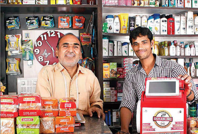 Companies such as eDabba, iPay and StoreKing are adopting a quasi e-commerce model to reach customers in rural areas where internet connections are slow and smartphones are few.