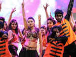 Meghna Gaonkar performs during the 62nd Filmfare Awards