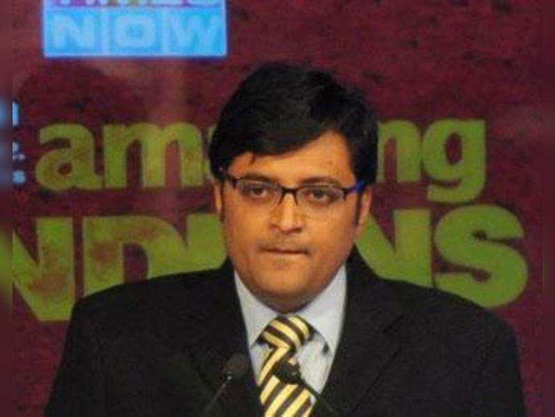 Arnab Goswami becomes first journalist to ring opening bell at BSE