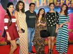Madhur Bhandarkar and Sangeeta Ahir with the star cast of Calendar Girls