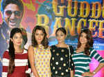 Star cast of Calendar Girls during the premiere of Bollywood film Guddu Rangeela
