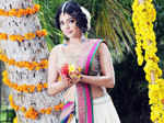 Actress Rima Kallingal poses for a photo during an exclusive photo-shoot