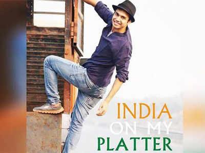 Chef Saransh Goila brings India on the platter