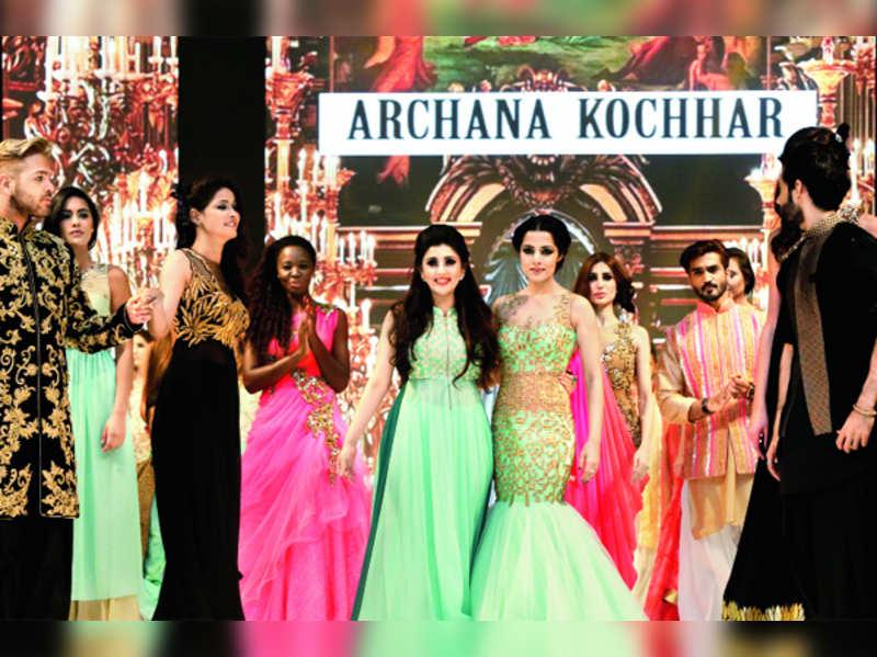 Archana Kochhar launches summer bridal range with Celina Jaitly