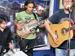 City-based band Taba Chake performing during the sundowner launch