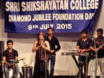 A musical performance during the diamond jubilee foundation day