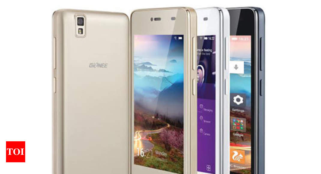 best service 0f91b d861f Gionee unveils Pioneer P2M smartphone, priced at Rs 6,999 - Times of ...