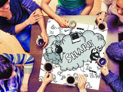 Mumbaikars are open to sharing a table with a stranger