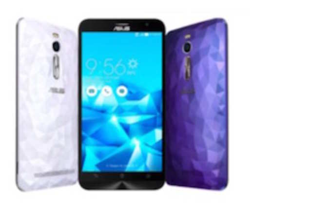 TheZenfone2 Deluxe is essentially the top-end variant of theZenfone2 with a premium back cover made of premium polygonal design in white, blue and redcolours.