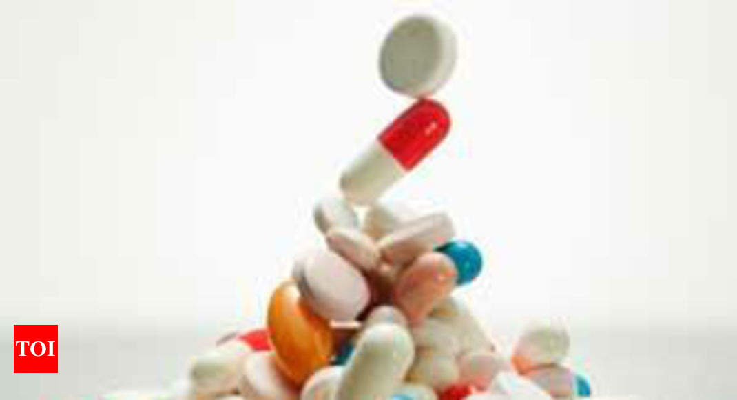 Domestic pharma retail mkt tops Rs 90k cr - Times of India