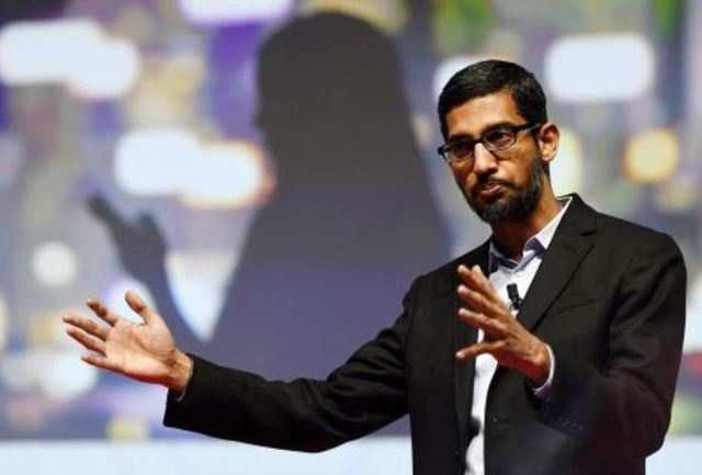 Sundar Pichai is Google's new CEO.