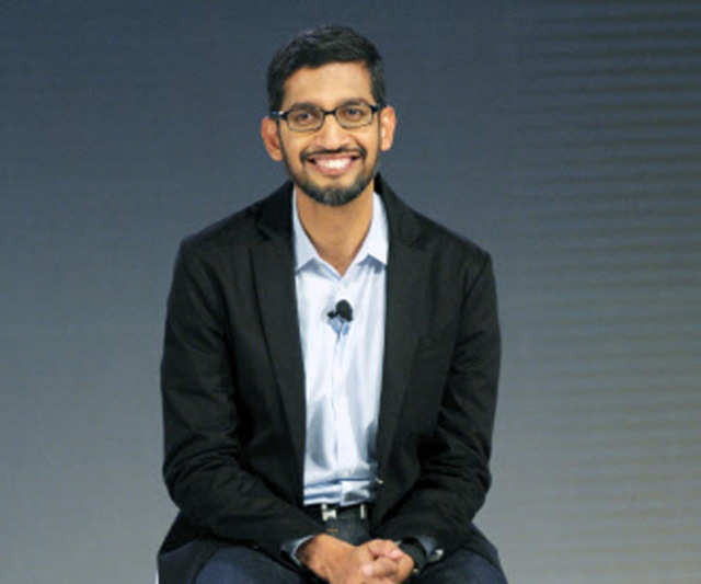 Pichai, 43, was named CEO of a newly organized Google, becoming only the third chief executive of the company after Schmidt and co-founder Larry Page.